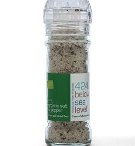 Organic Black Pepper Salt